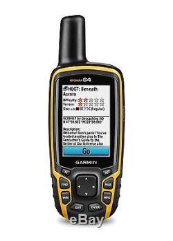 Garmin GPSMAP 64 Worldwide Handheld GPS Navigator 010-01199-00