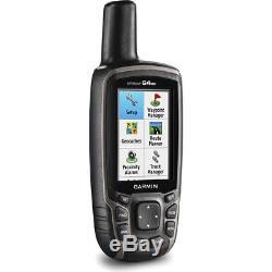 Garmin GPSMAP 64st Worldwide Handheld GPS with 32GB Accessory Bundle