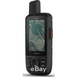 Garmin GPSMAP 66i GPS Handheld Satellite Communicator GPS with Inreach & TOPO Maps