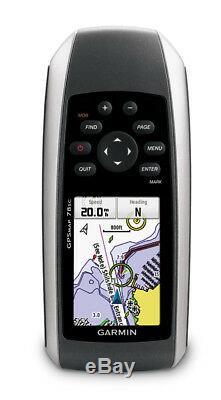 Garmin GPSMAP 78sc GPS with Preloaded BlueChart g2 US Coastal Maps 010-00864-02