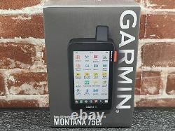 Garmin Montana 750i, Rugged GPS Handheld with Built-in inReach Satellite