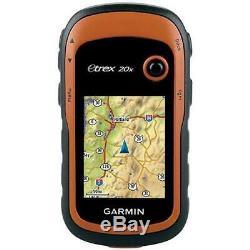 Garmin eTrex 20x Handheld GPS Navigator Sat Nav Hiking Walking Worldwide Maps