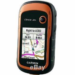 Garmin eTrex 20x2.2 Outdoor Handheld GPS NavigatorWorldwide BasemapGLONASS