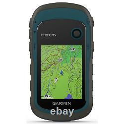 Garmin eTrex 22x Handheld GPS with 16GB Camping & Hiking Bundle 010-02256-00