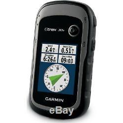 Garmin eTrex 30x GPS Handheld Navigator with 3-axis Compass 010-01508-10