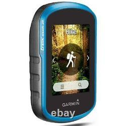 Garmin eTrex Touch 25 Rugged Handheld Outdoor Hiking GPS Blue