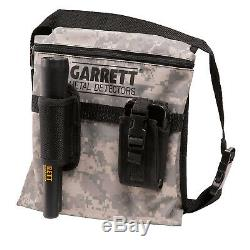 Garrett Pro-Pointer II Edge Digger and Camo Canvas Metal Detecting Bag Pouch