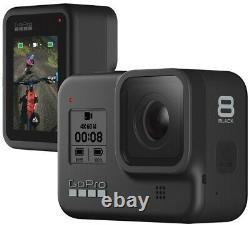 GoPro HERO8 Black 4K60 Ultra HD HDR HyperSmooth 2.0 LiveSteam Camera BNIB