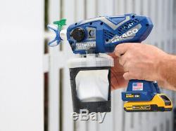 Graco 17M367 Ultra Max Cordless Airless Handheld Paint Sprayer