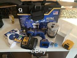 Graco ultra Airless Handheld Paint Sprayer 18v 3 Months Old