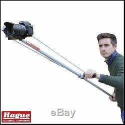 Hague K1 Compact Handheld Camera Jib, Pole Cam DSLR Camcorder Crane Boom Rig Arm