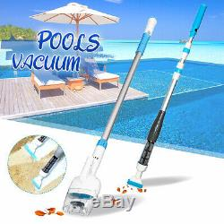 Handheld Cordless Swimming Pool Vacuum Cleaner Rechargeable Vac Above Ground