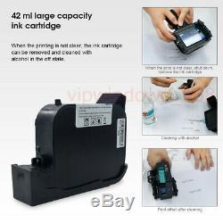 Handheld Inkjet Drucker DIY 600DPI Tinte Logo Code Datum Wörter QR Barcode