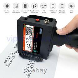 Handheld Inkjet Printer Carton Box Printing/DOD Handjet/Portable Coding Machine