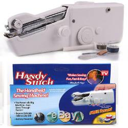 Handheld Sewing Machine Stitch Portable Household Handy Electric Battery Powered