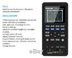 Hantek 2C72 2in1 Handheld oscilloscope Multimeter tester 70MHz 2CH+DMM 250MSa