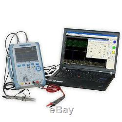 Hantek DSO1202B Portable Handheld Oscilloscope 200MHz 2CH 1Gsa/S 1M Memory 5.6