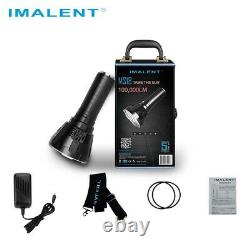 IMALENT MS18 100000 Lumens Super Bright Flashlight Rechargeable Torch Searching