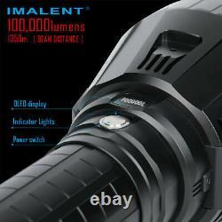 Imalent MS18W Super High Brightness LED Flashlight Neutral White 5000K Searching