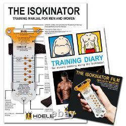 Isokinator Classic muscle building hand-held gym by Gert F. Koelbel Training