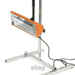 Iwata 1kW Handheld Infrared Unit with Stand Paint Dryer Heat Lamp