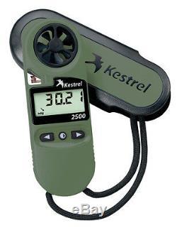 Kestrel 2500NV 2500 Pocket Weather Meter with Night Vision Preserving Backlight