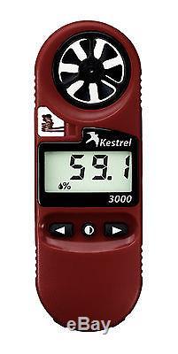 Kestrel 3000 Pocket Handheld Weather, Wind Meter Anemometer Authorized Dealer