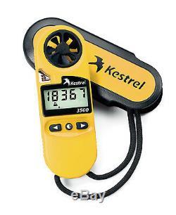 Kestrel 3500 (0835) Handheld Weather Meter Yellow Factory Authorized Dealer