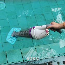 Kokido Telsa 50 Rechargeable Handheld In or Above Ground Pool Spa Vacuum Cleaner