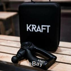 Kraftgun GK-WGC2K1 First Noise-Free Black Compact Design Kraft Massage Gun