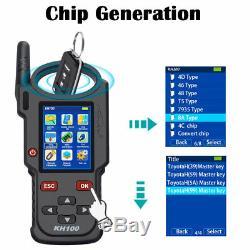 Lonsdor KH100 Hand-Held Remote/Smart K-ey Programmer Simulate/ Generate Chip