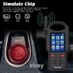Lonsdor KH100 Hand-Held Remote/Smart Key Auto Programmer Simulate/ Generate Chip