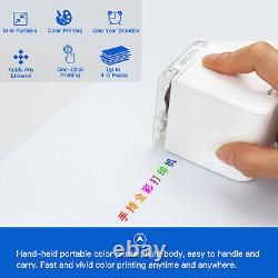 MBrush Handheld Inkjet Printer Color Printing For Code Date Number Label 1200DPI