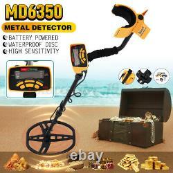 MD6350 Underground Metal Detector Gold Digger Deep Sensitive Hunter Jewelry
