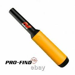 MINELAB VANQUISH 440 Multi Frequency Metal Detector + FREE Pro Find 15