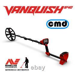 MINELAB VANQUISH 540 Multi Frequency Metal Detector