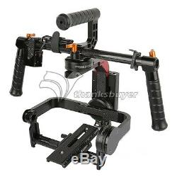 MOY SteadG-S 32bit 3-Axis Brushless Handheld Camera Gimbal for 5D3 GH4 A7S DSLR