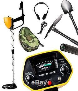 MYLEK Metal Detector Professional Kit Gold Silver Waterproof Discriminating