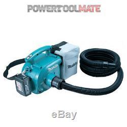Makita DVC350Z 18V Cordless Vacuum/ Dust Extractor/ Blower/ 3L Bag Naked