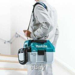 Makita DVC750LZX1 Brushless Cordless Dust Extractor Hand-Held Vacuum Cleaner