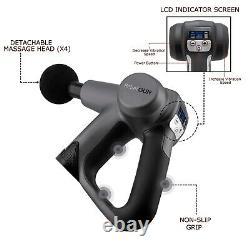 Massage Gun Percussion Massager Deep Tissue Handheld Multi Grip Design