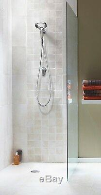 Methven Aio Bathroom Hand Held Shower Head with Hose Modern Hi-Tech Design