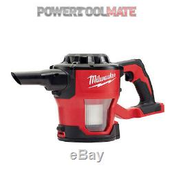 Milwaukee M18CV-0 18V Compact Hand Vacuum (Body Only)