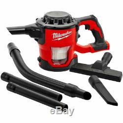 Milwaukee M18CV-0 18V M18 Compact Hand Vacuum Body Only 4933459204