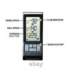NEW 2020 PRGR Personal Pocket Golf Launch Monitor Doppler Handheld Black