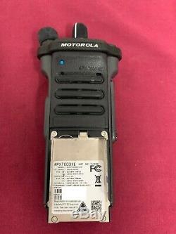 NEW MOTOROLA APX7000XE UHF2 450-520Mhz 7/800Mhz P25 DIGITAL HANDHELD RADIO TDMA