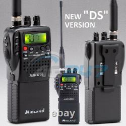 NEW Midland Alan 42 DS Multi Band Standard Handheld 40 Channel AM-FM CB Radio