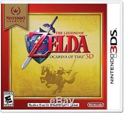 NEW Nintendo 3DS XL Handheld System Super Smash Bros and Zelda Ocarina Bundle