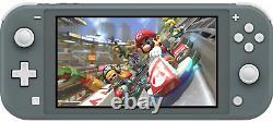 NEW Nintendo Switch Lite Handheld Console + FREE GAME Mario Kart 8 Deluxe Gray