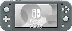NEW Nintendo Switch Lite Handheld Console Gray